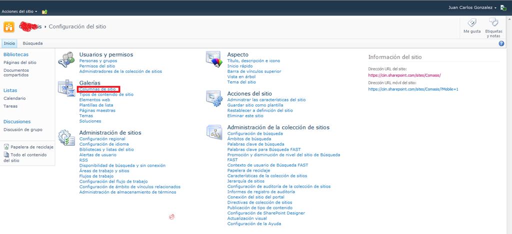 SharePoint 2010: Creación de tipos de contenido (I)! | Pasión por la ...