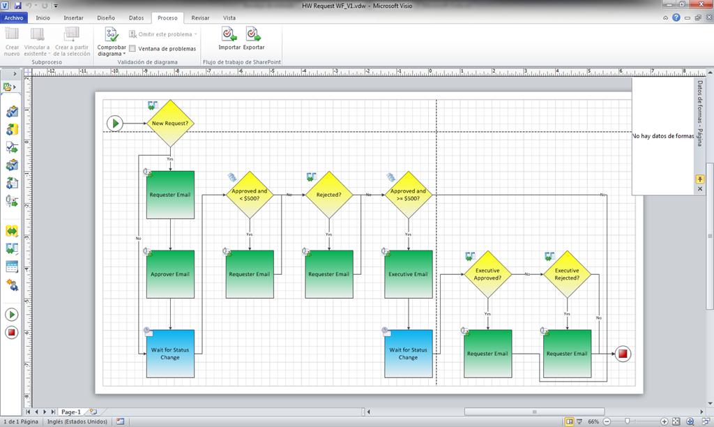 Sharepoint 2010 como abrir el diagrama visio asociado a un flujo de image ccuart Choice Image