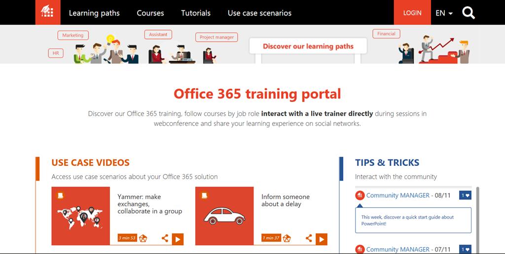 Office 365: Nuevo Office 365 Training Portal! | Pasión por la ...