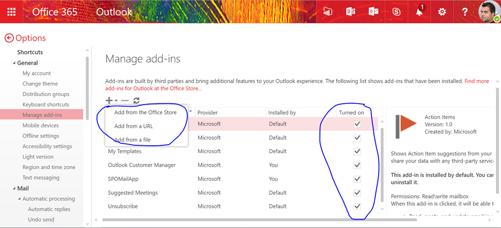 how to add watermark in office 365