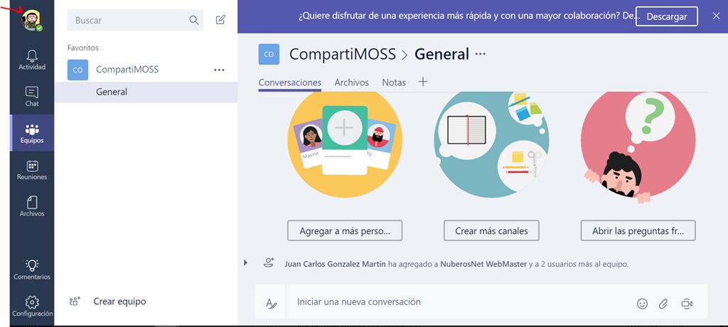Office 365: How to change the profile picture in Teams! | Pasión por