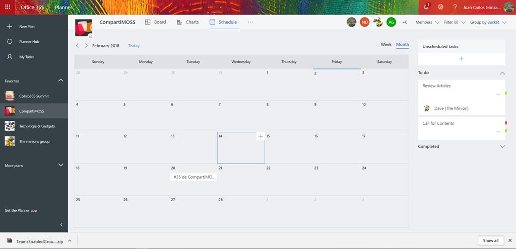 Calendario Office 365.Office 365 Pasion Por La Tecnologia Pagina 96