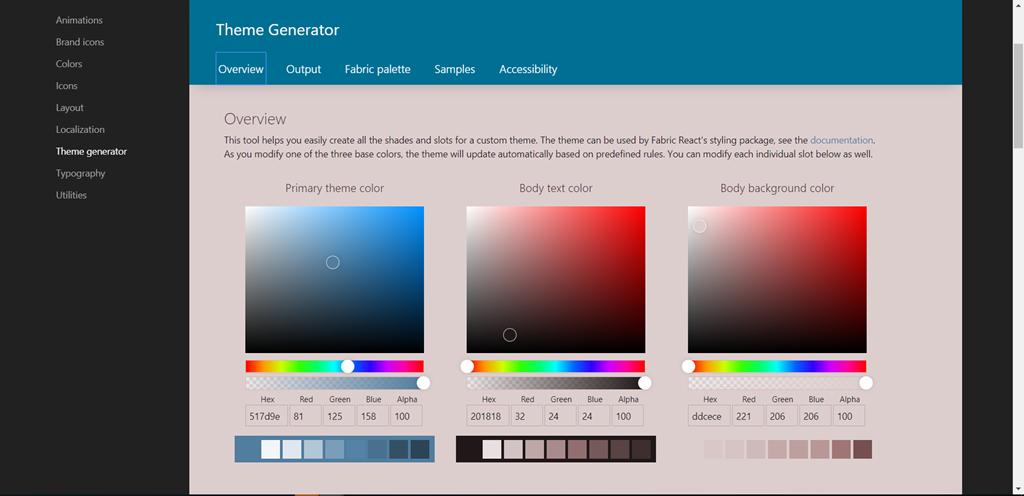Office 365: Nuevo generador de temas para SPO (I)!   Pasión por la ...